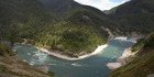 The Buller River where the man's body was pulled from on Sunday evening. Photo: Stock