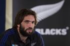 New Zealand All Blacks lock Sam Whitelock. Photo / Brett Phibbs.