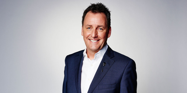 Loading Mike Hosking has been targeted after a television show revealed details of his car number plate.  Photo / Supplied