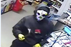CCTV footage of a Hawke's Bay dairy robbery. Photo/Supplied