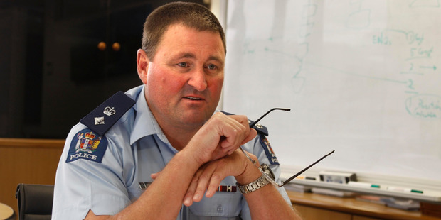 Northland district commander Superintendent Russell Le Prou. PHOTO/JOHN STONE