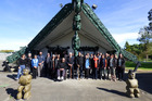 Locals met at Matahiwi Marae for a Cape to City hui yesterday.