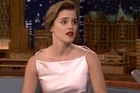 Emma Watson has opened up about her cringiest interview ever. YouTube / The Tonight Show Starring Jimmy Fallon