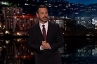 Late-night host Jimmy Kimmel choked up while sharing a very personal story. YouTube / Jimmy Kimmel Live