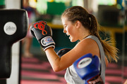 The Bachelor NZ contestants unleashed some aggression in a Muay Thai session.