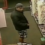 Police have released photos of the offender who allegedly attempted to rob a Woolston dairy. Photo / Police