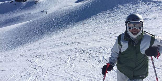 On the slopes at Cardrona. Photo / Justine Tyerman