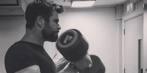 Chris Hemsworth. Photo / Instagram