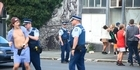 Watch: Watch: Police shut down unruly Dunedin student street parties
