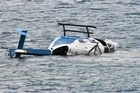 Video from Newstalk ZB and Marty Melville.   A lucky pilot has described hitting the water after his helicopter crashed and being unable to get his seatbelt off.  Rick Lucas clambered uninjured from his helicopter after it plunged into the Pauatahanui Inlet in Wellington this morning.