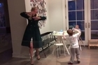 A video of Ivanka Trump dancing awkwardly with her son is going viral