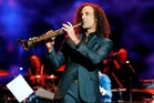 Kenny G doesn't perform live on every domestic flight in the US. Photo / Getty Images