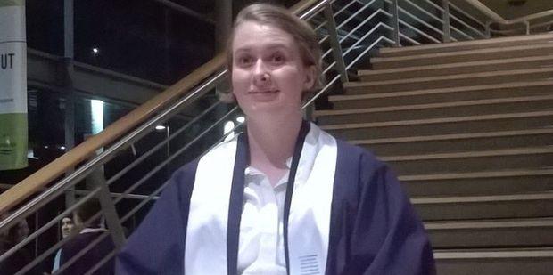 New Zealander Matilda Boyce, 18, graduated from high school in Mandurah, Australia. Photo / Supplied
