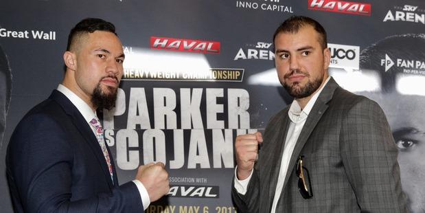 Joseph Parker and Razvan Cojanu will square off on Saturday. Photo / Nick Reed