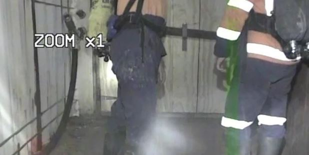Loading Police have released more than 13 hours of video inside the Pike River mine drift. Photo / Vimeo