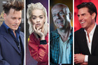 Johnny Depp, Rita Ora, Bruce Willis and Tom Cruise have all had their lines fed to them before.