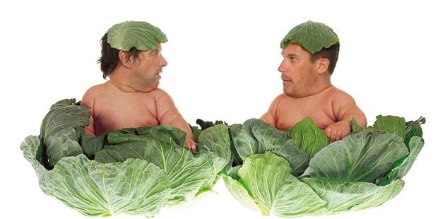 Cabbage patch creeps Matt and Jerry. Photo / Radio Hauraki