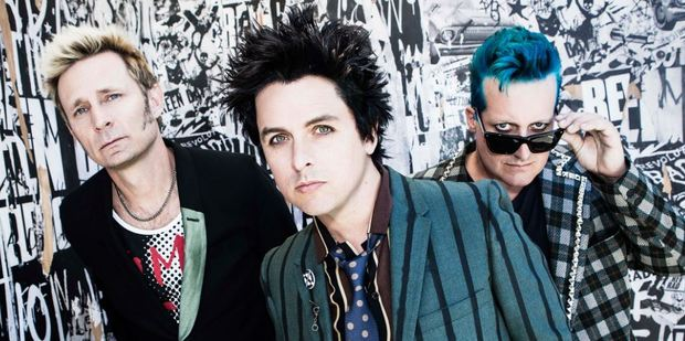 Green Day are here for two shows in Auckland this weekend.