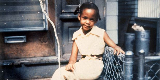 A young Whitney Houston in 'Can I Be Me' and in 'True Hollywood'. Photo / Supplied