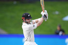 New Zealand captain Kane Williamson on Day 3 of the 3rd test match between New Zealand Black Caps and South Africa Proteas. Photo / Photosport
