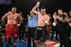 Joseph Parker gives a rueful smile after beating Razvan Cojanu in an unanimous decision in Manukau. Photo / Photosport