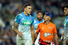 Sonny Bill Williams leaves the field in Sydney for his concussion test. Photo / Photosport
