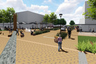 The final stage of the redevelopment of the former City Focus site is to begin on Monday. PHOTO/FILE