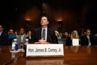 The timing of James Comey's dismissal has worried many Democrats. Photo / AP
