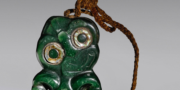 A Maori hei tiki pendant is expected to fetch thousands when it goes under the hammer in New York next week.
