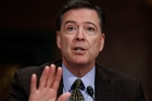 James Comey was in Los Angeles when news broke of his dismissal. Photo / AP
