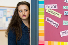 Katherine Langford in a scene from Netflix show 13 Reasons Why, which will get a second season despite the first proving to be controversial. Photo/AP