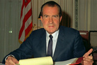 Oval Office taping system was removed by President Richard Nixon's chief of staff nearly 44 years ago. Photo / File
