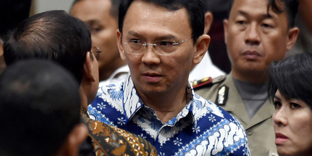 Jakarta governor sentenced to 2 years in prison for blasphemy