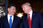 Chinese President Xi Jinping and US President Donald Trump. Photo / AP