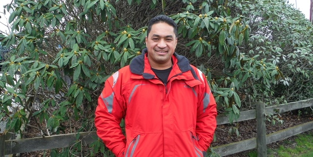 Elton Ngawhika, from Coastguard Rotorua Lakes. Photo / Supplied