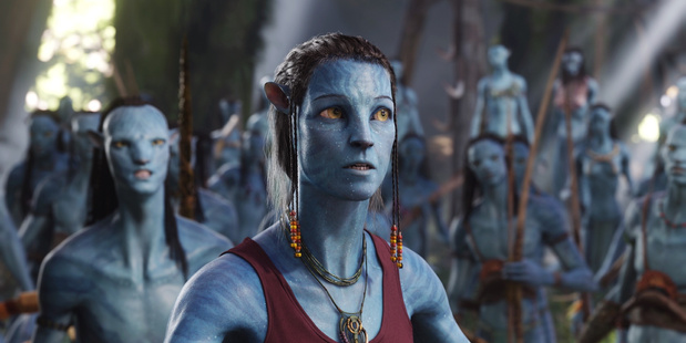 A scene from Avatar in 2009. Photo/AP