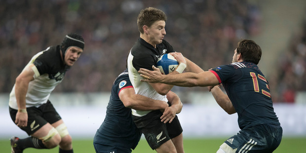 The All Blacks could draw France in the 2019 Rugby World Cup. Photo / Brett Phibbs