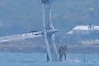 Crunch time looming for Team New Zealand in the America's Cup as Oracle capsizes again.