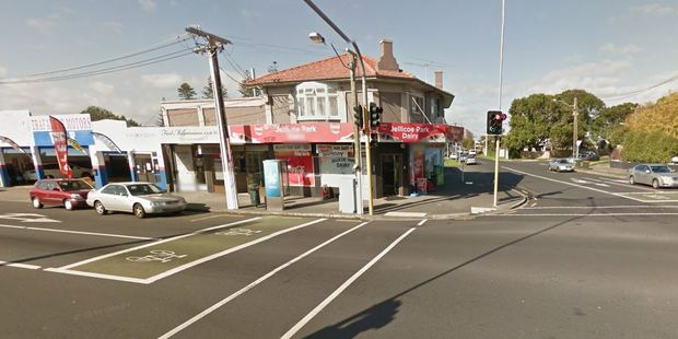 An Onehunga Dairy worker was injured in a robbery this afternoon.