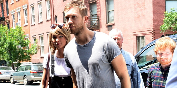 Taylor Swift and Calvin Harris pictured together in 2015. Photo / Getty Images