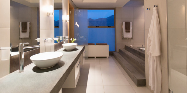 Designers are starting to call bathrooms 'wellness spaces' and are starting to take on more importance in the home. Pic Getty