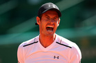 ]Andy Murray reacts during the Monte Carlo Rolex Masters Series. Photo / Getty Images