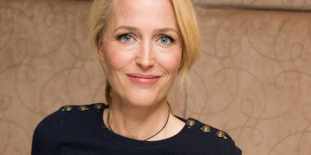 """Gillian Anderson at the """"American Gods"""" Press Conference at the May Fair Hotel. Photo / Getty Images"""