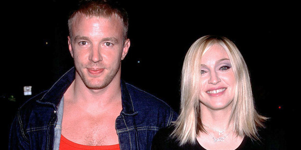 Guy Ritchie and Madonna in 2000. Photo / Getty