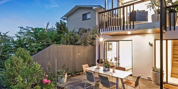 Buyers can enjoy BBQs in their courtyards and dinner parties on the deck. Photo / Ray White