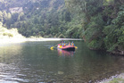 A raft trip on the upper Rangitikei River.