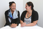 Narelle Newnick and Tineka Barlett have just graduated with their Bachelor of Nursing degree from Toi Ohomai Institute of Technology and say every family should have a Maori nurse. Photo/John Borren.