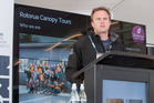 James Fitzgerald speaks at Trenz. Photo/Supplied