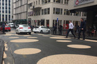 The newly-added spots on Shortland St in Auckland. Photo / Cherie Howie