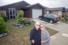 Gilmore and Judy Wall relocated from Auckland to a 105 sq m home in Golden Sands. Photo/Andrew Warner.